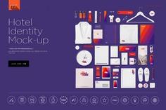 Hotel Identity Mockup PSD