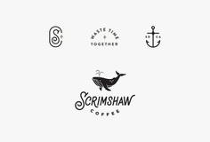 Scrimshaw Coffee by Corinne Alexandra