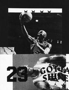 chrisbur.net — Harbour used in collages for Nike's Gotta Shine campaign, design by Chris Burnett.