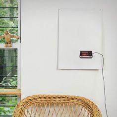 Wall Clock by Flat Time #tech #flow #gadget #gift #ideas #cool