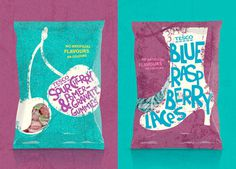 Tesco Classic Sweet Treats xe2x80x94 The Dieline #rough #retro #illustration #minimal #sweets