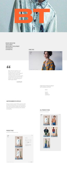 Basic Terrain - Branding / Consulting #roscoflevo #wethemus #jensanchez #bradfuture #webdesign #branding #photography #joybryant #creative agency