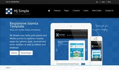 mj simple is a Responsive joomla Template #template #responsive #joomla
