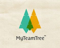 MyTeamTree by mireldy #tree #team #design #christmas #logo #green
