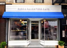 kelli anderson, logo, design, fish, restaurant, Russ & Daughters
