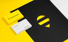 Fundacion Capital | Anagrama #die #cut #business #card #stationery