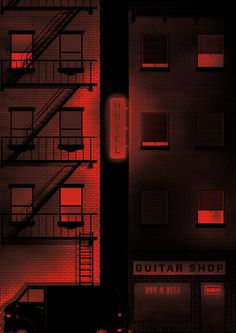3am #city #print #architecture #illustration