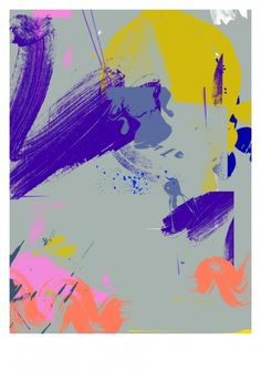 Print-Process / Product / Mixed paint 2 #toby #print #neilan #process