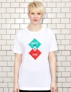 CONTRASTLESS - women - white t-shirt | NATRI - Shirt Label