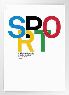 Poster for the french emopunk band Sport. #poster #identity #graphicdesign