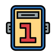 See more icon inspiration related to number, sports and competition, number 1, boxing, fight, match, board, round and game on Flaticon.