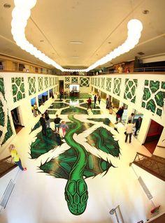 1238956_10152260044644966_1573344185_n #mural #snake