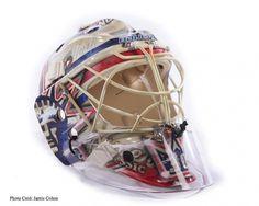 Facebook #lundquist #rangers #helmet #goalie #mask #york #new