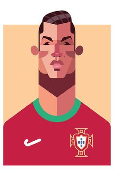 MATCH OF THE DAY Daniel Nyari Graphic Design & Illustration #matchday #illustration #ronaldo #cristiano