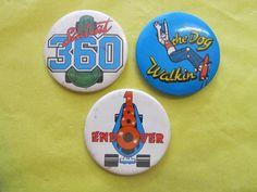 Vintage Skateboard Badges | Strong Island #badges #skateboard #pin