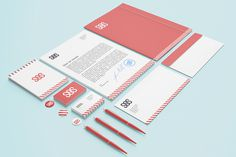 Stationery / Branding Mock-Up on Behance