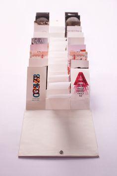 Portfolio Flip Book - sallie harrison #packaging #identity #book
