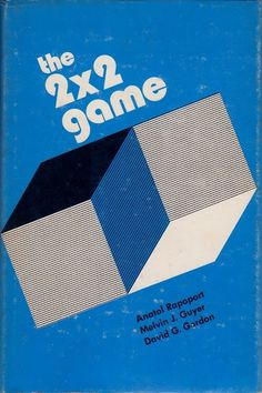 Flyer Goodness #1970s #geometric #book cover #cube
