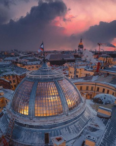 Saint Petersburg From Above: Drone Photography by Vitaly Karpovich