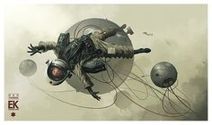 je voudrais que: art #space #astronaut #science fiction