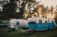 Mobile homes by Phil Chester #streamliner #caravan #portland #phil #landscape #homes #architecture #mobile #chester #oregon