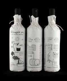 FörpackadFörpackningsdesign, Förpackningar, Grafisk Design » Handritade flaskor CAP&Design Nordens största tidning för kreativa #graph