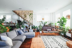 Plant-Filled New Zealand Vintage Loft Home Tour | Apartment Therapy