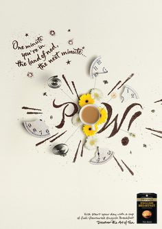 Moods Twinings – Press Campaign for Twinings teas, 2009.