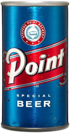 Point : American Beer Can #design #type #packaging #beer #can