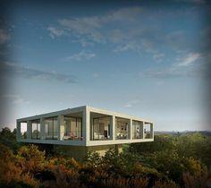Solo Houses, résidences secondaires contemporaines | Archiboom, l'architecture et le design par ceux qui les font ! - Blog CotéMaison.fr #architecture