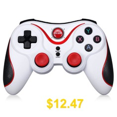 GEN #GAME #S5 #Wireless #Bluetooth #Controller #Joystick #- #WHITE