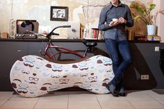 Indoor Bicycle Cover Velo Sock #tech #flow #gadget #gift #ideas #cool