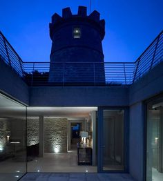 The Round Tower by De Matos Ryan Architects #architecture