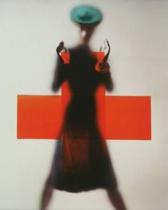 Erwin Blumenfeld's 1945 Vogue cover: 'Red Cross' « We Heart Vintage #vogue #red #cross #cover #photography #1945