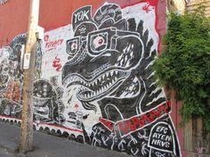 Walls 3 on Behance #graffiti #urban #street art