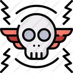 See more icon inspiration related to festival, rock and roll, miscellaneous, heavy metal, wings, concert, entertainment, tattoo, skull, gestures and rock on Flaticon.