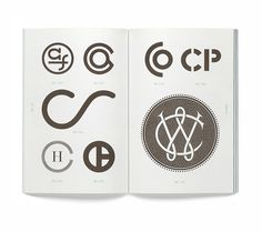 'Monogram logo' book by Leterme Dowling & Counter-Print | typetoken® #bb
