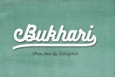 Bukhari Script Free Typeface