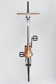 Steve Rendle bike by Rapt - © Julien Roubinet #rapt #custom bike #bicycle #leather #print