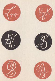 Max Körner's Das Neue Monogram und Zeichenwerk