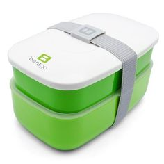 Bentgo All-in-One Stackable Lunch/Bento Box, Green #packaging