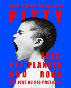 Pitty – Tour Matriz 2018/2019 (Tour posters collection)