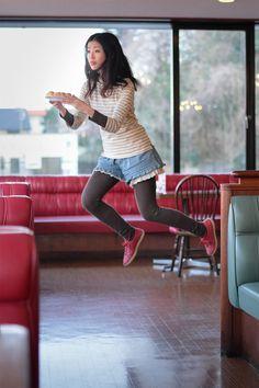Yowayowa Camera Woman Diary: Levitating Self-Portraits by Natsumi Hayashiara
