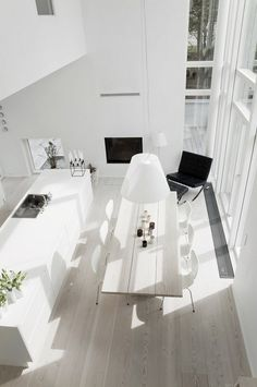 Random Inspiration 60 | Architecture, Cars, Girls, Style #interior #plan #open #white