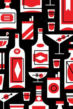 Eight Hour Day » Blog #smokes #illustration #design #drinks