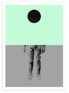 Limited edition print from Cyrcle's solo show Nothing Exists!