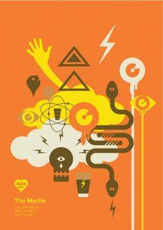 Before Colour   Online portfolio of Matt Lewis #snake #illustration #cloud #skull