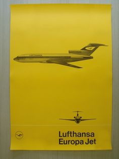 All sizes | Lufthansa Europa Jet | Flickr - Photo Sharing! #lufthansa #otl aicher