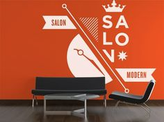 Studio MPLS | Design #graphic design #orange #store #environmental