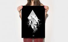 Manuk Behind Mars Releavers - ignacio fretes #photo #illustration #photography #poster #music #type #typography